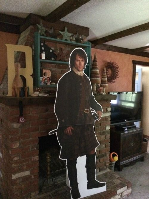 Want to know the story behind the kidnapping of cardboard Jamie Fraser from Outlander? It all started one summer evening...