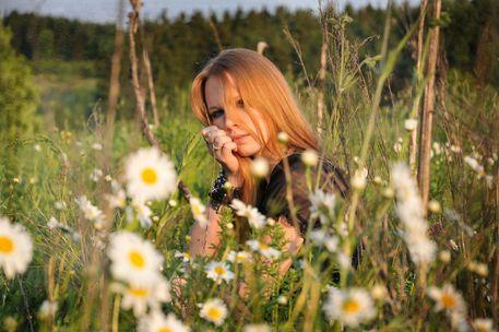 Fields of Summer.  Art flakes