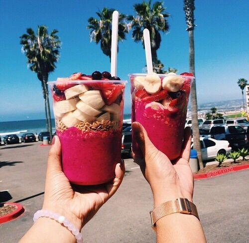 Image Via We Heart It Beach California Dream Drink Fit
