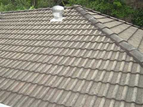 Spray Techniques How Painting Roof Shingles How To Painting A House Youtube Roof Shingles Shingling Painting Tile