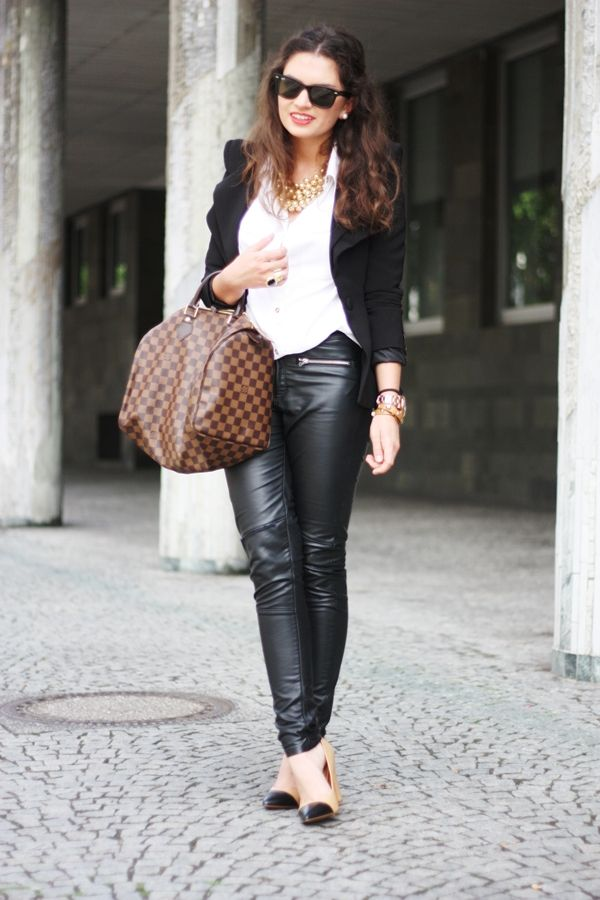 22072012 - leather pants - FashionHippieLoves