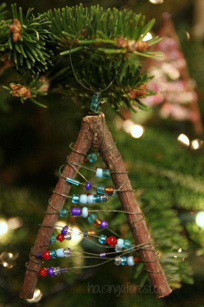 Nature Christmas Ornament