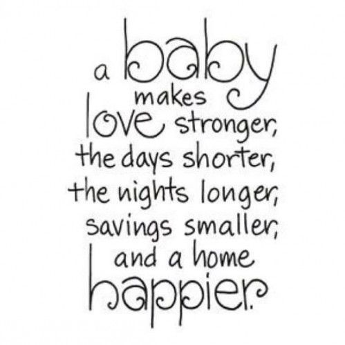 Family Quotes. Baby SayingsBaby Card ...