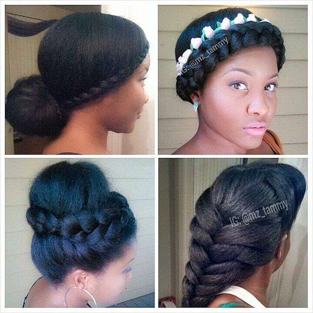 Miraculous 1000 Images About Natural Hair On Pinterest Natural Hair Updo Hairstyle Inspiration Daily Dogsangcom