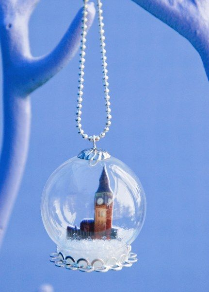 Diy Souvenir Snow Globe Necklace My So Called Crafty Life