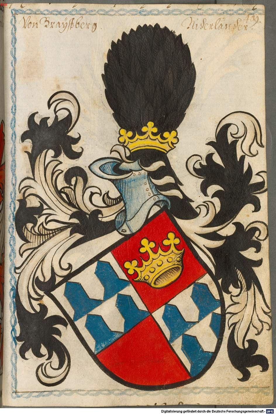 Scheibler'sches Wappenbuch Süddeutschland, um 1450 - 17. Jh. Cod.icon. 312 c  Folio 409