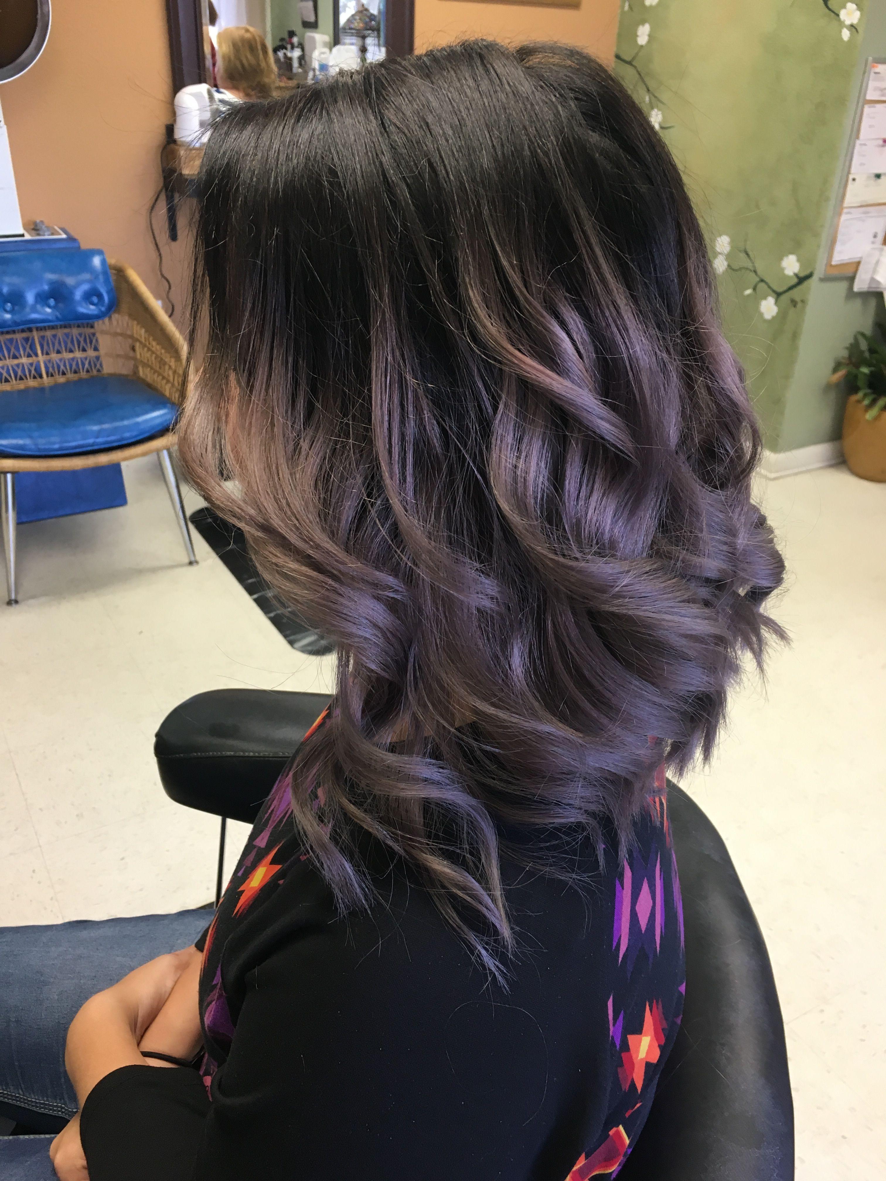 smokey lilac hair magical