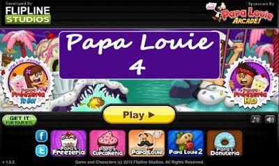 Game Papa Louie Papalouie 4 Game