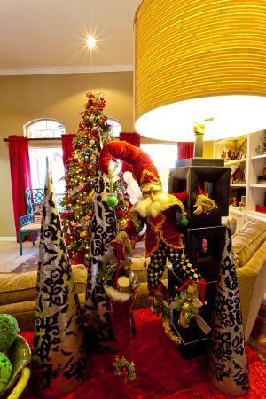 misscayceshomes10-179 hang on a lamp- Mark Roberts Santa Fairy