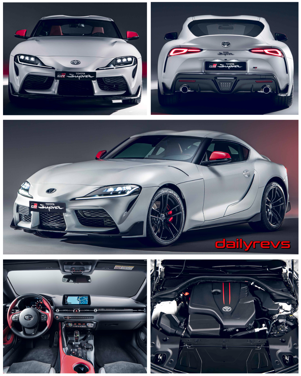 2020 Toyota Supra 2 0l Turbo Hd Pictures Videos Specs Information In 2020 Toyota Supra Toyota Sport Seats