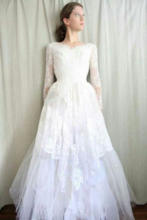 Simple Vintage Wedding Dress Wedding Wedding Dresses Wedding