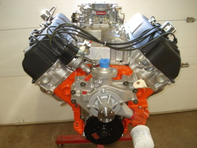 426 Street Hemi Engine 472 Ci Crate Motor Complete Edelbrock Alum Head Dual Quad Ebay Crate Motors Hemi Engine Engines For Sale