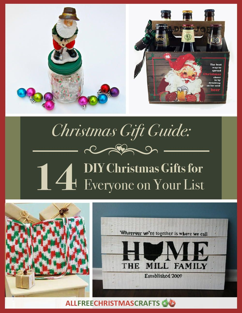 Free homemade gifts for christmas