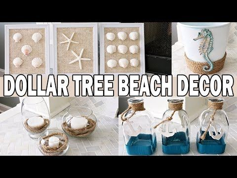 Photo of Dollar Tree DIY Coastal Beach Decor 🌊 Nautical Decor