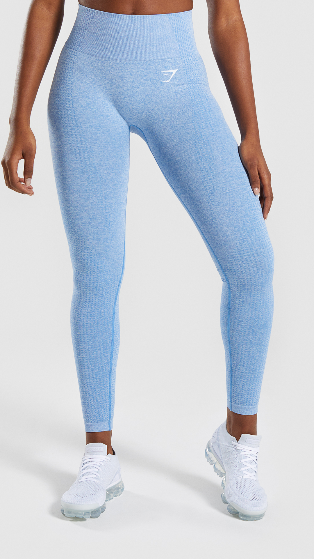81c701a98b73c4 The Vital Seamless Leggings, Malibu Blue Marl. Empowered through strength. # Gymshark #Gym #Sweat #Train #Perform #Seamless #Exercise #Strength #Strong  ...
