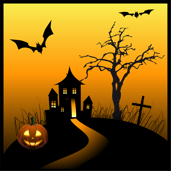 A Haunted House | Haunted houses, Halloween and Clip art