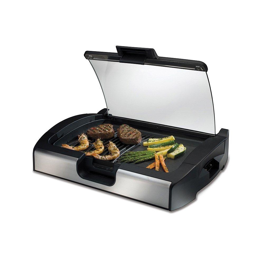 Parrilla Y Plancha Electrica Oster 3005 Fravega Plancha De Cocina Cocina Electrica Aceites Para Cocinar