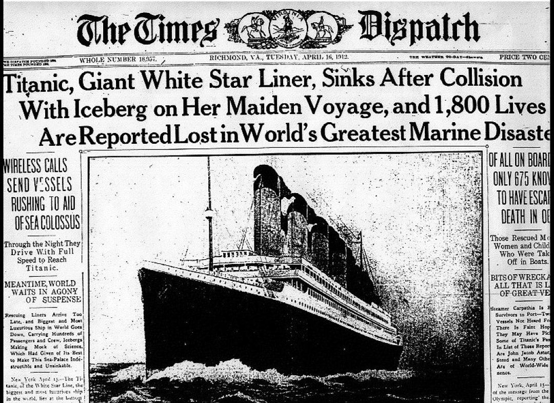 Titanic Iceberg Maritime History Black And White Large Poster /& Canvas Picture