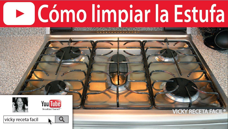 Como limpiar la estufa 2 formas vicky receta facil for Como limpiar el horno muy sucio