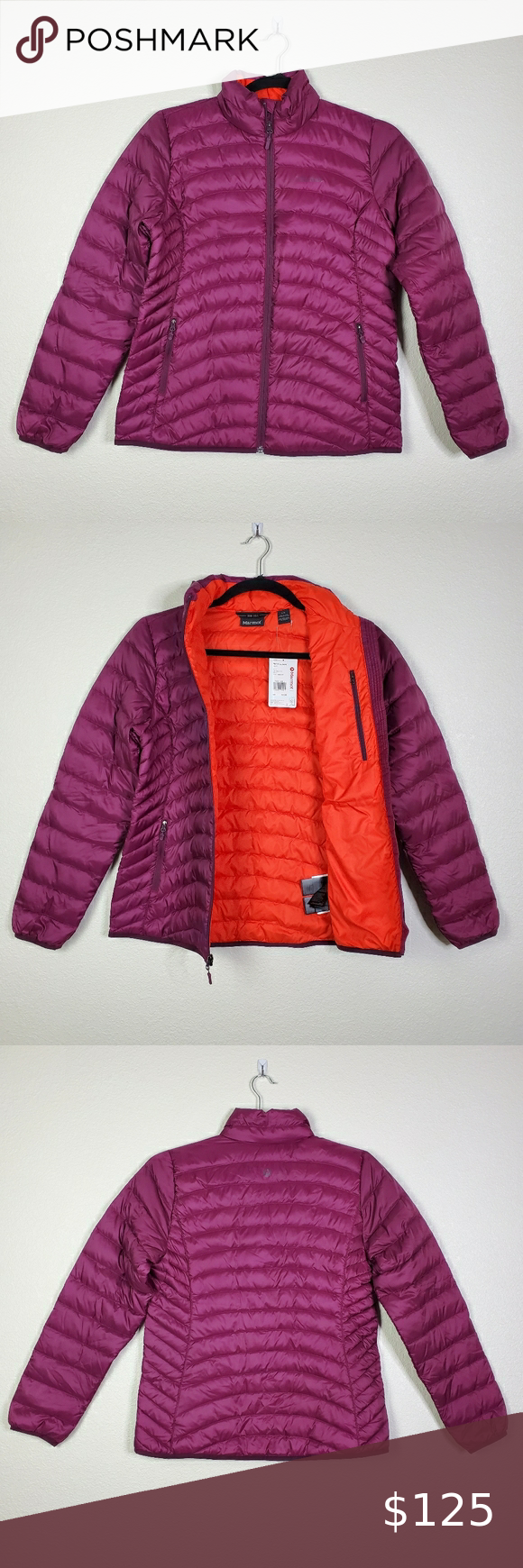 Marmot Womens Aruna Down Puffer Jacket Fill Power 600