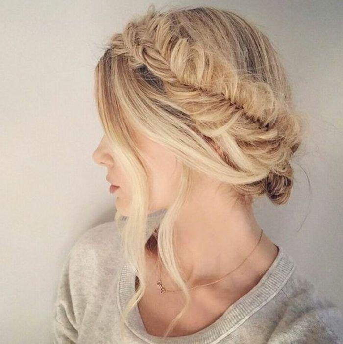 1001+ ideas de peinados de fiesta atractivos y femeninos ...