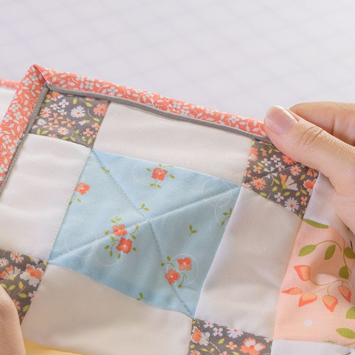 Embellish Your Quilt Binding With Corey Yoder