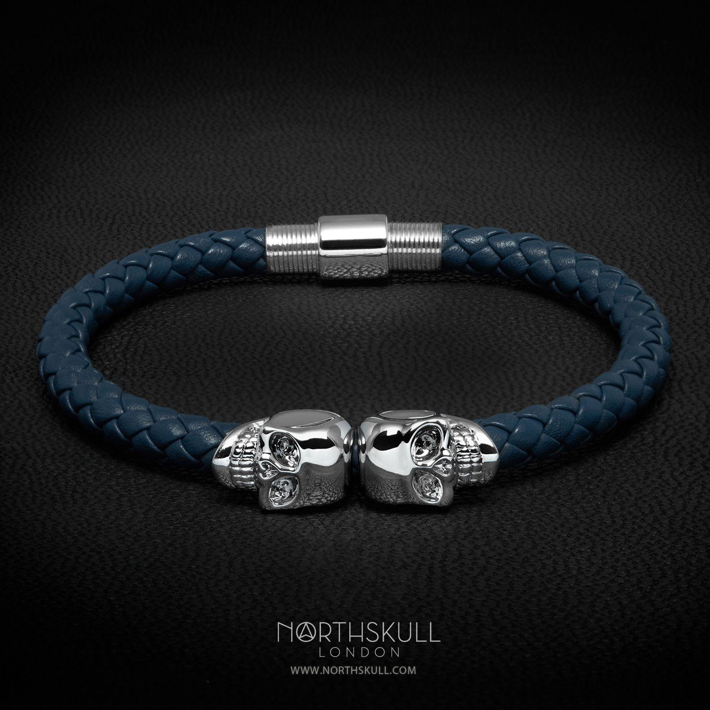 Northskull skull bracelet - Blue Apy5N2Da