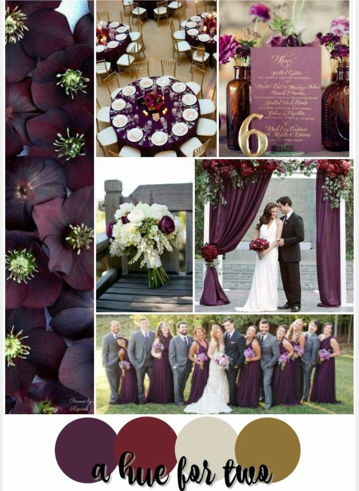 Pin by Amanda Bruton on wedding | Pinterest | Color pallets, Wedding ...