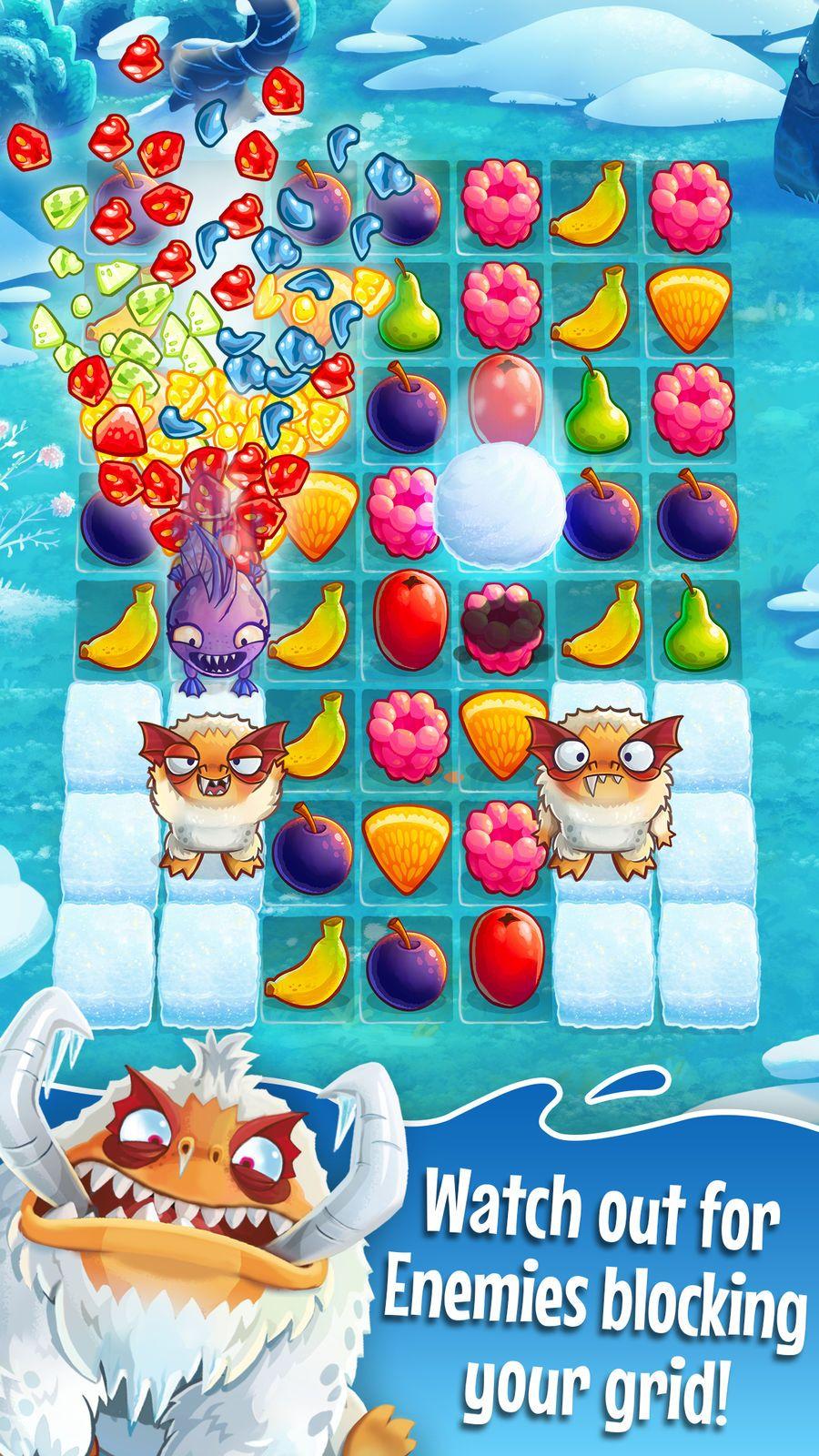 Fruit Nibblers AdventureGamesiosPuzzle