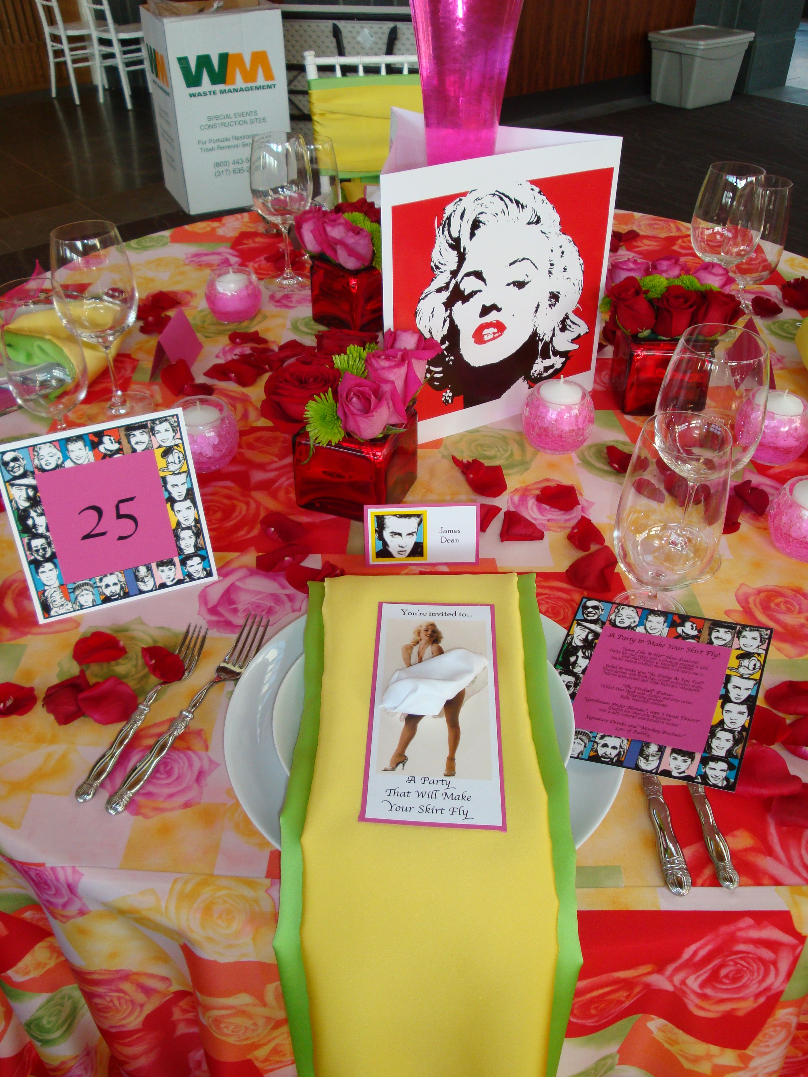 Marilyn Monroe Party A Party To Make Your Skirt Fly