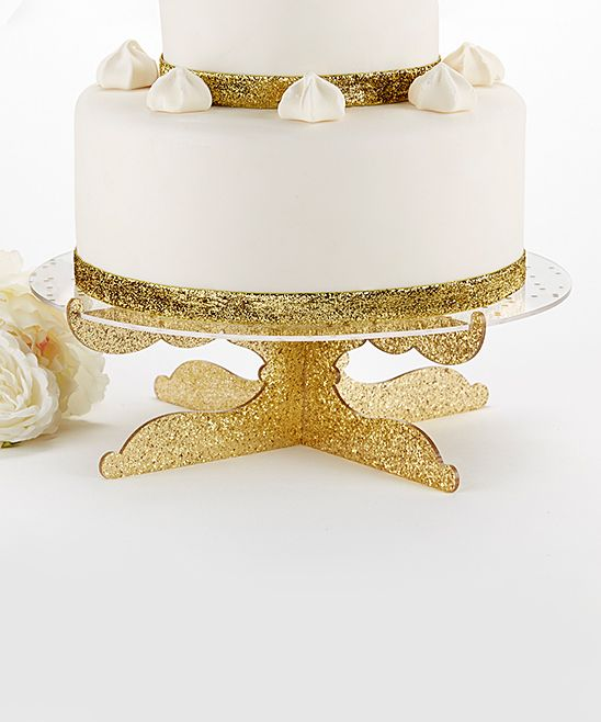 Party Time Gold Glitter Acrylic Cake Stand | Products | Pinterest ...