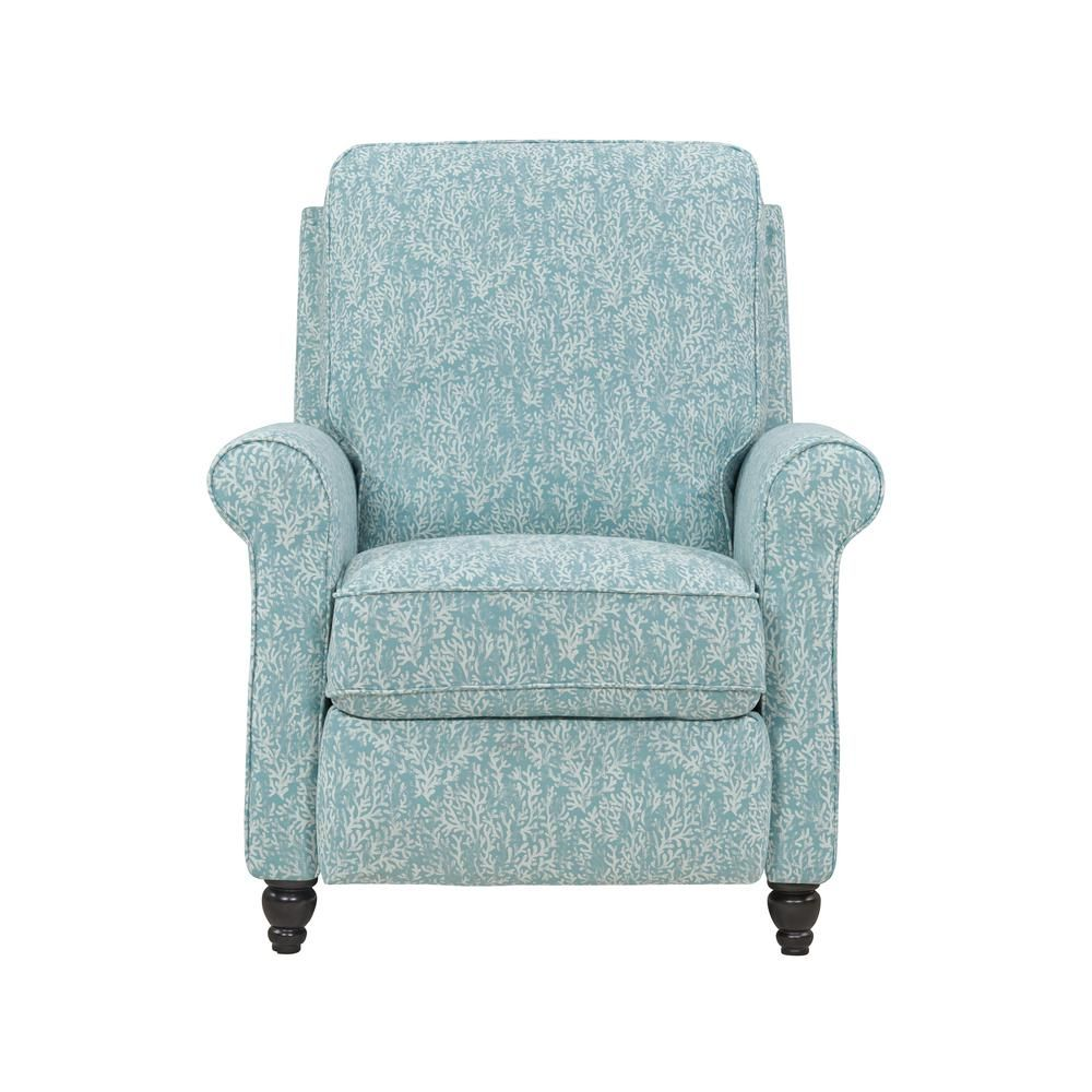 Woven Fabric Push Back Recliner Chair