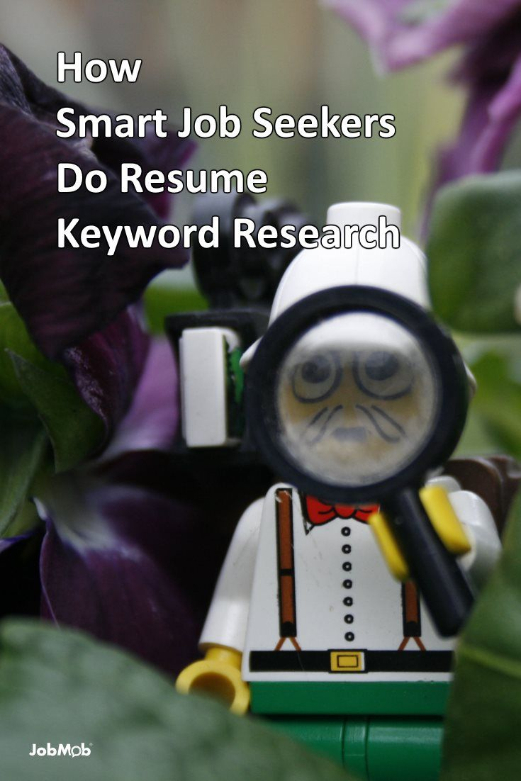 How Smart Job Seekers Do Resume Keyword Research Job Search