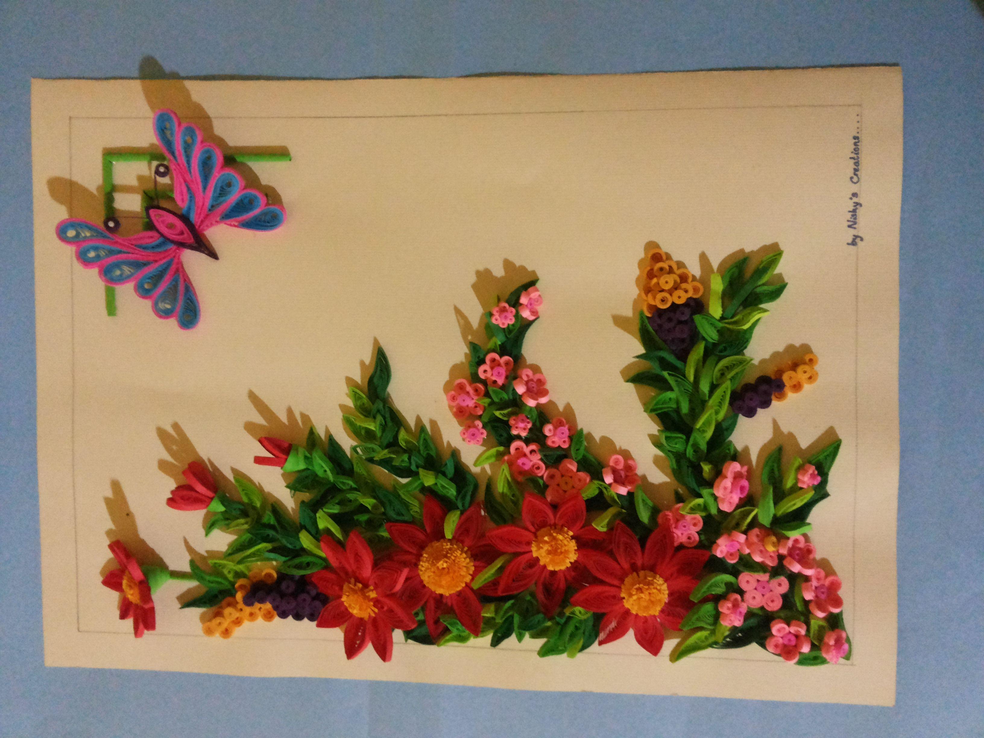 paper quilling wall art | paper quilling | Pinterest | Paper ...