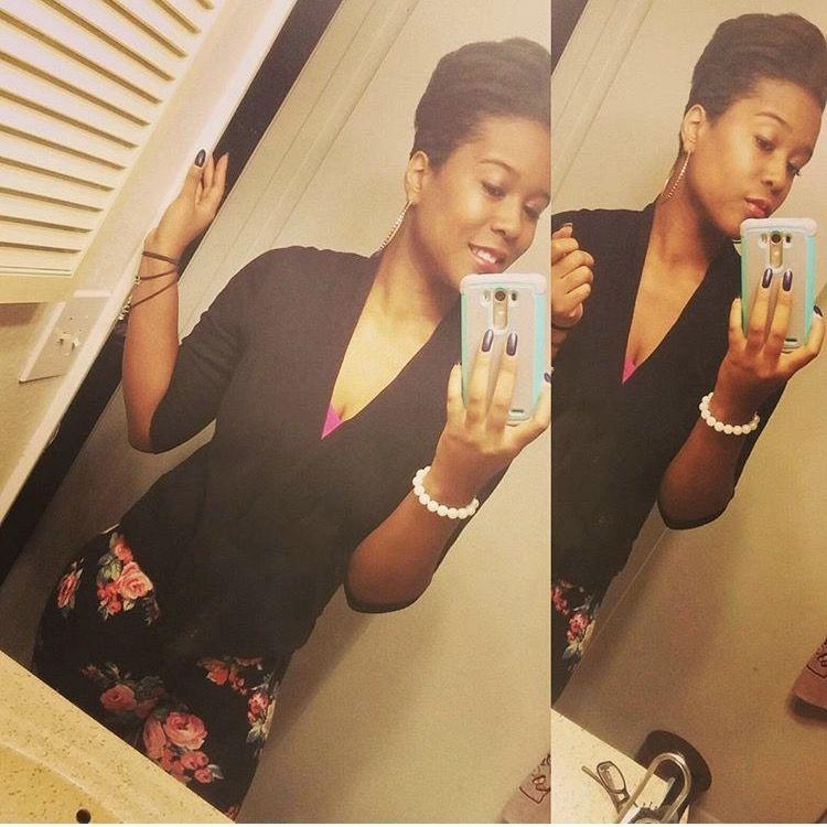 #shorthair #selfie #selflove #blackandbeautiful #melanin