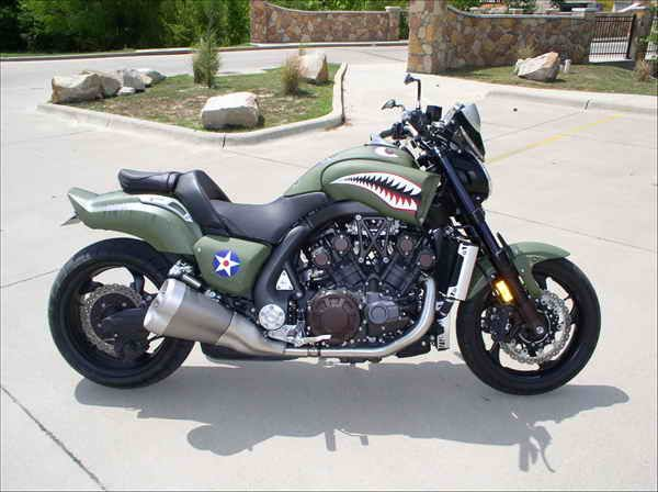 Military Custom Yamaha VMAX