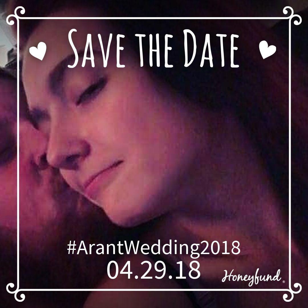 Please help make our honeymoon memorable 💓 https://www.honeyfund.com/wedding/ArantWedding2018 #ArantWedding2018 #Honeyfund