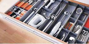 Хранение инструментов на кухне