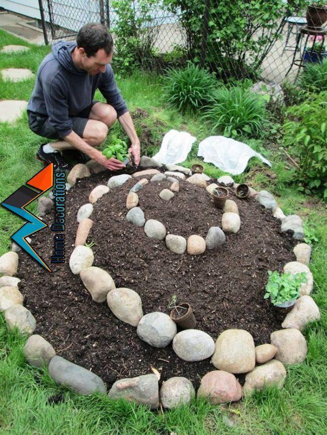 Photo of ▷ 30 + Ideen zum Thema Kräuterspirale selber bauen,Julie Ritch