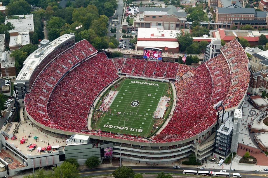 Stadiums of the SEC Sanford stadium, University of