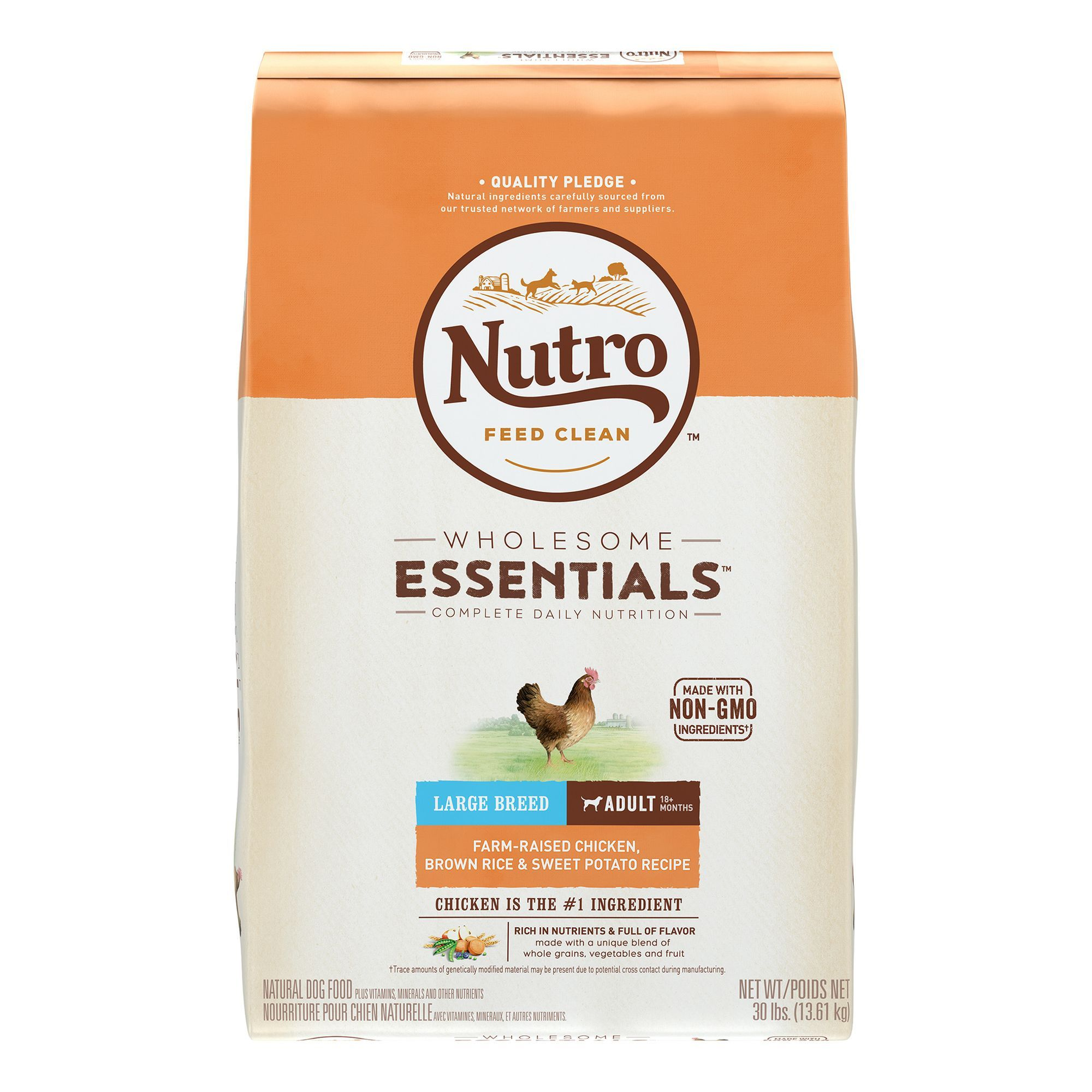 Nutro Wholesome Essentials Large Breed Dog Food Natural Chicken