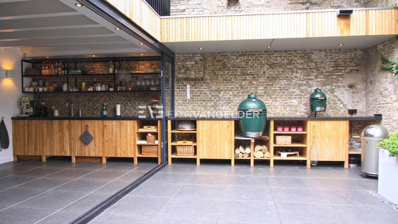 Big Green Egg Outdoor Kitchen Buitenkeuken Outdoor Kitchen Design Wooden Outdoor Kitchen Teak