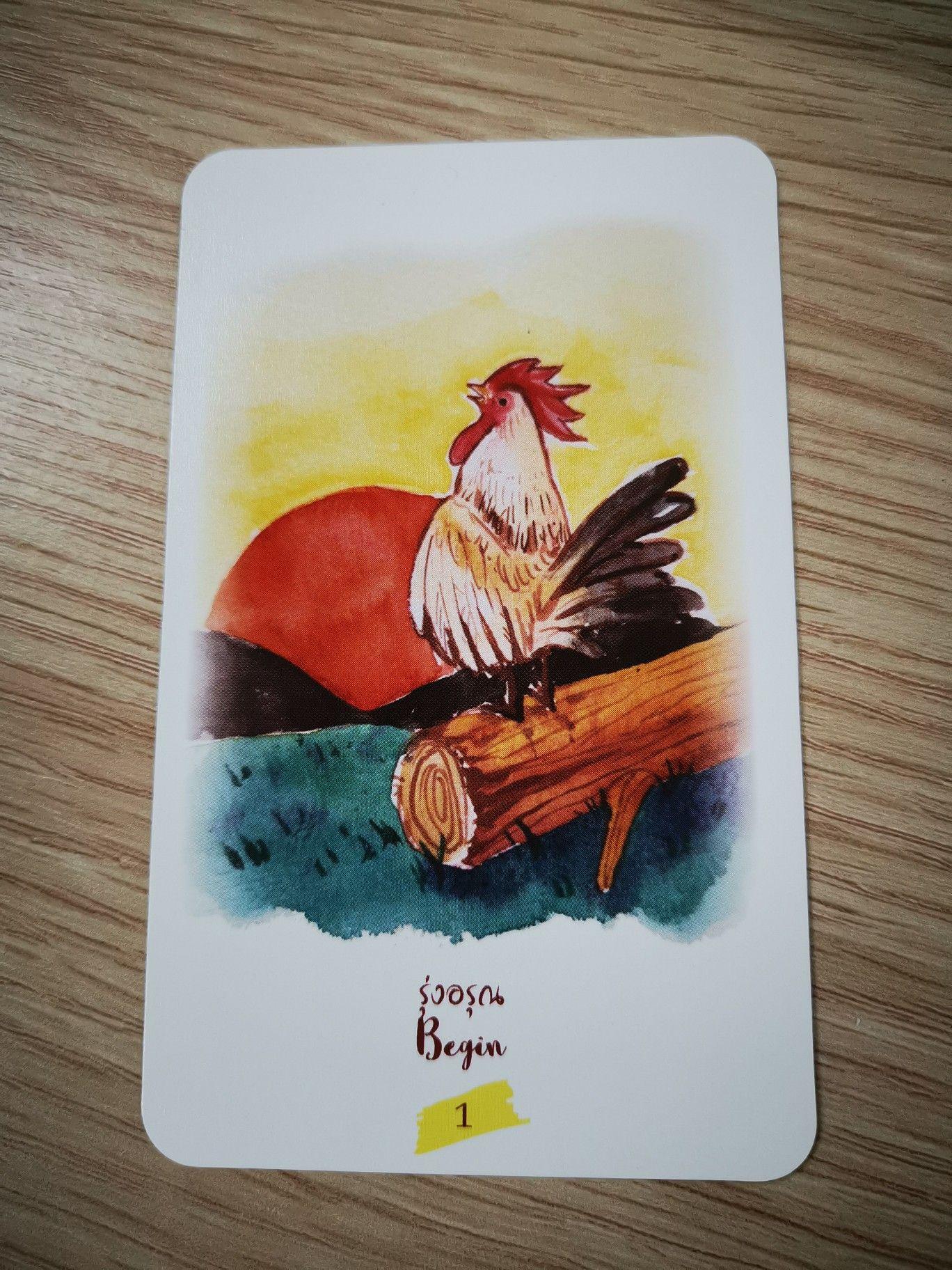 Bossatarot tarot tarotcard tarotdeck thaitarot