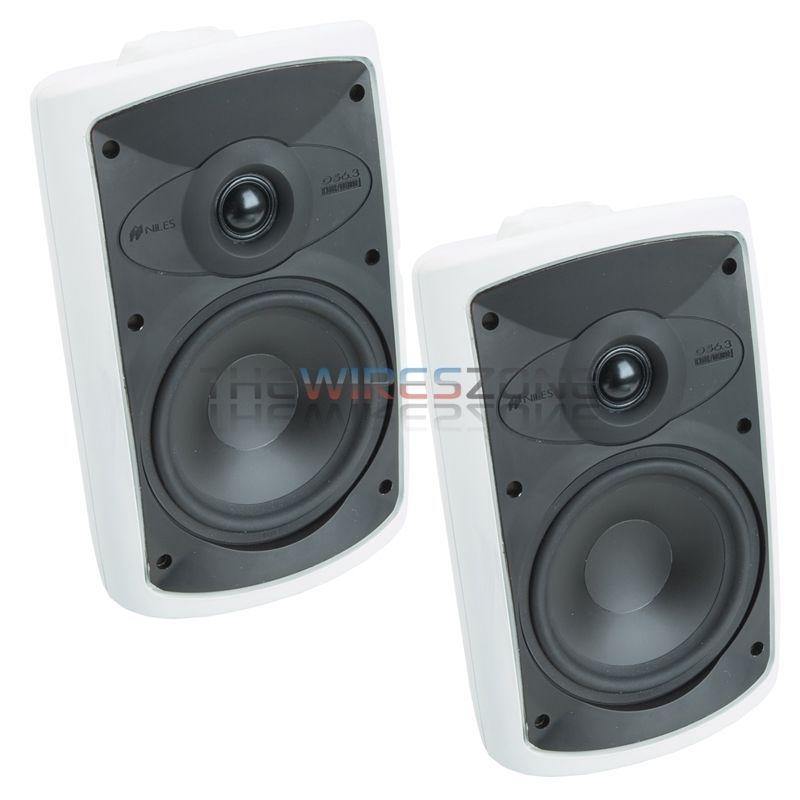 "Niles CM7SI 7/"" 2-Way 130 Watts Single Stereo Input In Ceiling Speaker 1 Pack"