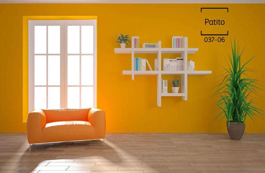 Resultado de imagen para amarillo colonial comex - Habitaciones color naranja ...