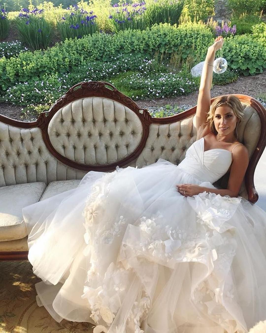 Hayley paige dori wedding dress  Hayley Paige on Instagram ucFairly fabulous indeed paigegown by