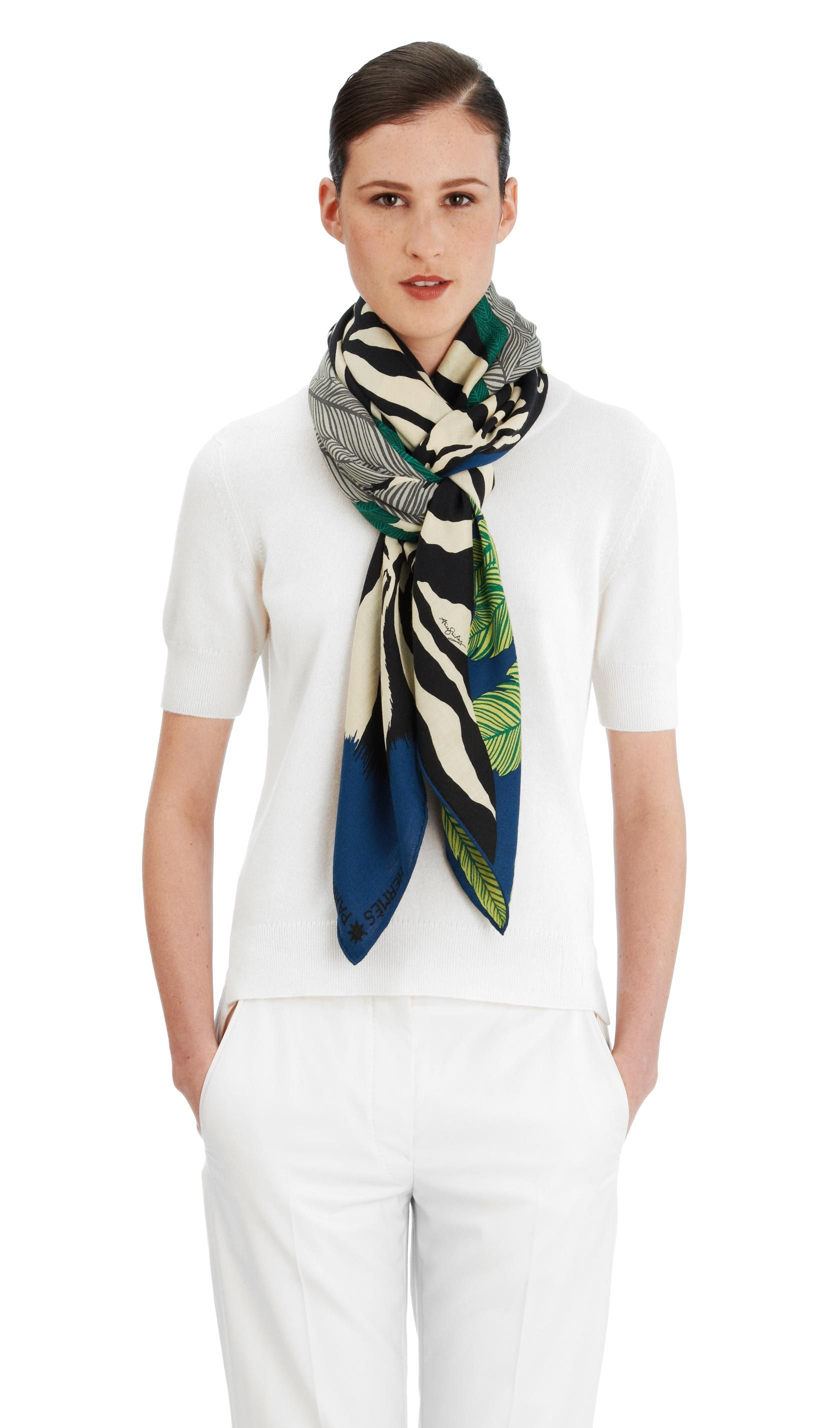Cashmere Silk Scarf - moment of the haos-3 by VIDA VIDA JiCYU5