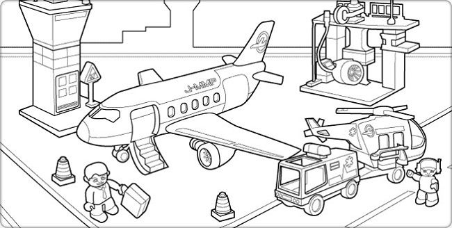 Airport Coloring Pages Coloring Pages Coloring Pages