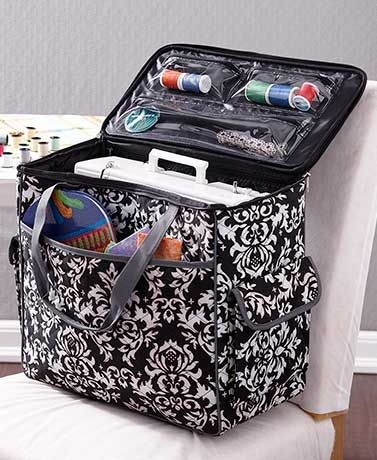 569e861dae Rolling Sewing Machine Totes Sewing Pinterest Sewing Rooms And Gorgeous Sewing  Machine Tote .