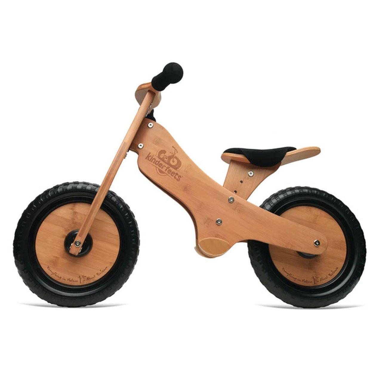 Kinderfeets Balance Bike Bamboo Wooden Balance Bike Balance Bike Kids Bicycle